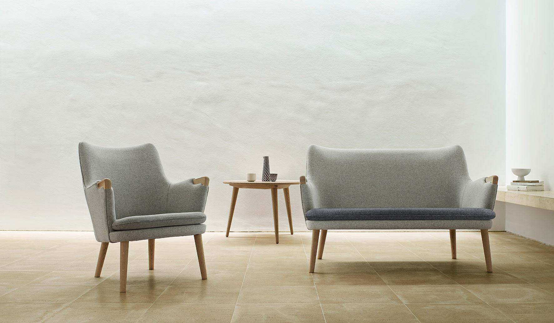 CARL HANSEN & SØN|ウェグナーによる造形美と職人技巧の結晶。幻の二脚が復刻