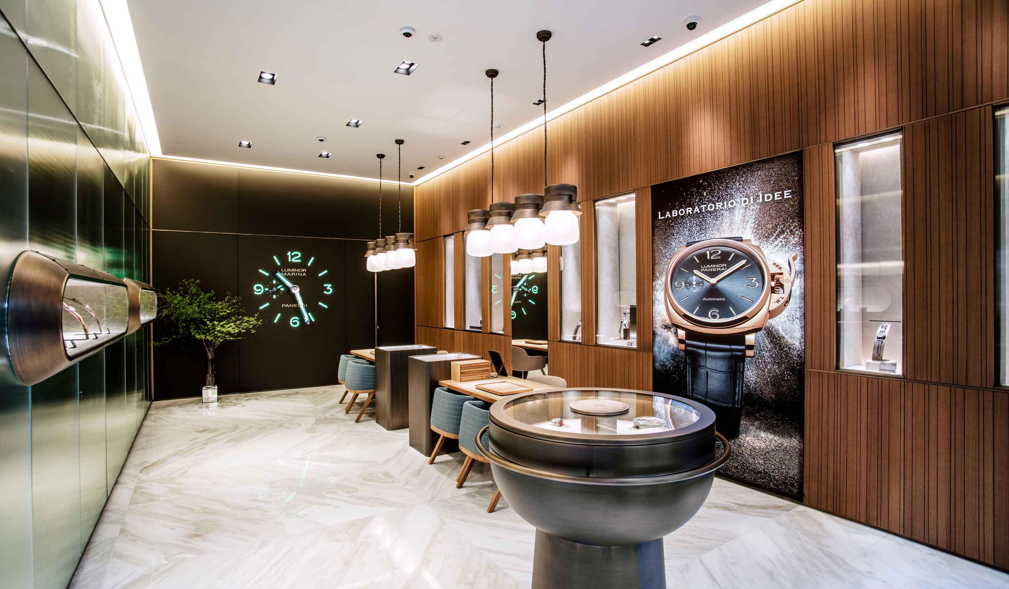 PANERAI パネライが日本旗艦店を銀座に移転オープン
