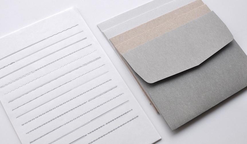 SAB LETTERPRESS|ロングセラー「罫線便箋」がパピエラボ限定仕様でリニューアル