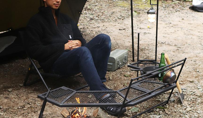 DOD|キャンプ体験をランクアップさせる、ソロキャンパーのためのコクピットツール