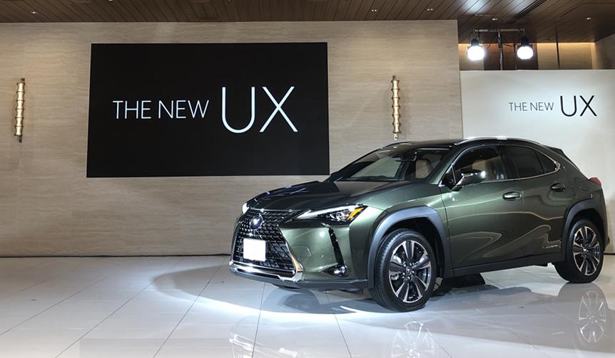 レクサスの新型コンパクトクロスオーバー「UX」デビュー|Lexus