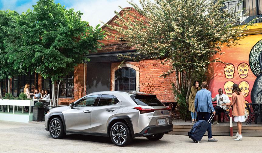 レクサスの新型コンパクトクロスオーバー「UX」デビュー Lexus