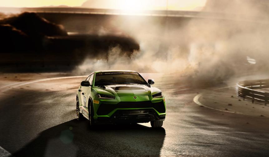 ランボルギーニのSUV「ウルス」にレース仕様のコンセプトモデル|Lamborghini