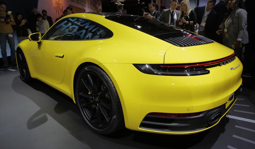 新型ポルシェ発表、LAオートショーリポート|Porsche