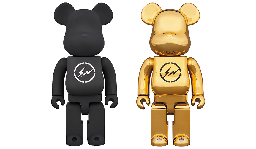 MEDICOM TOY|BE@RBRICK THE CONVENI × fragmentdesign 400%