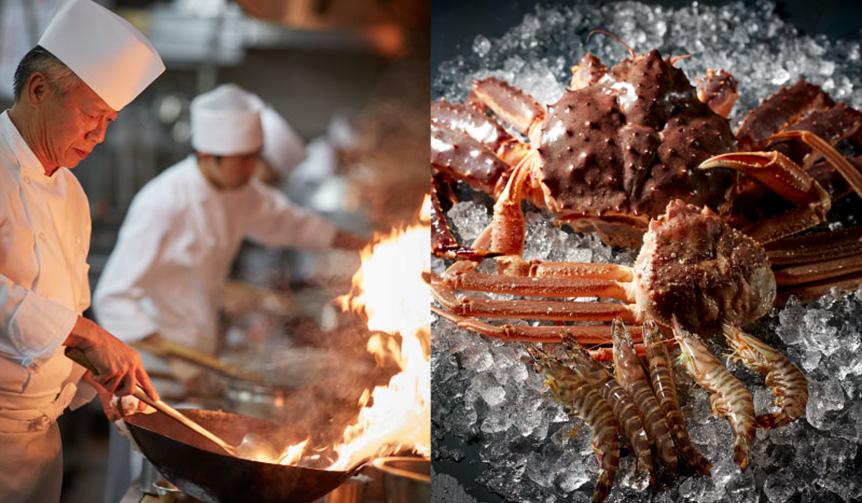 EAT|グランドニッコー東京 台場で味わう『冬の贅~海老・蟹ディナー』