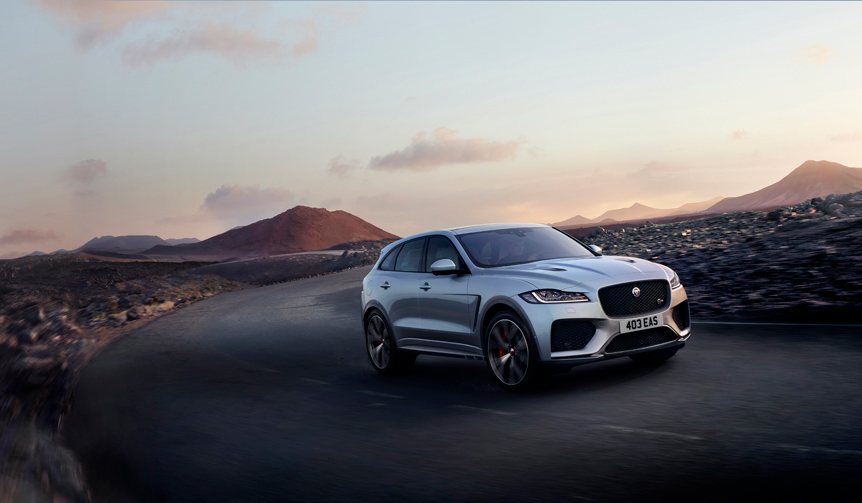 ジャガーFペイスの2019年モデル、受注開始|Jaguar