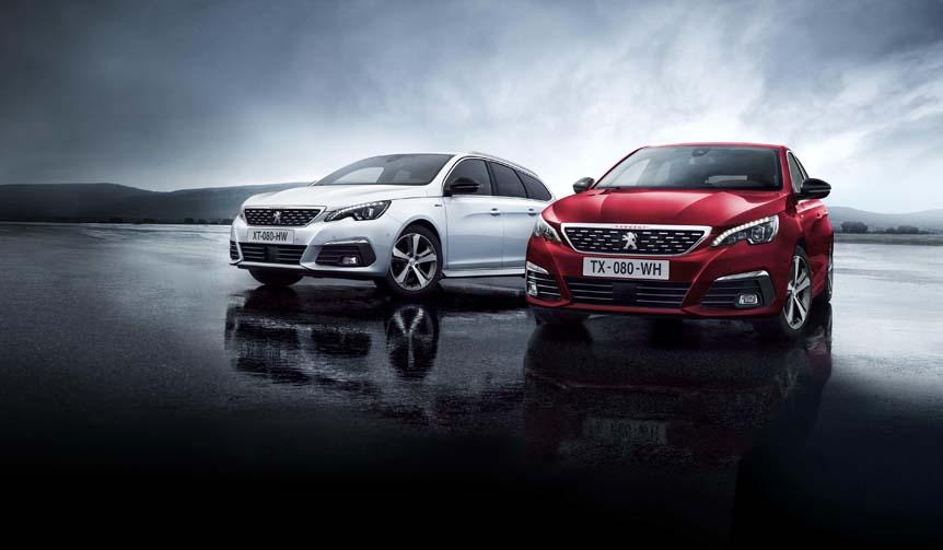 新エンジンと8段ATの改良版308を販売開始|Peugeot