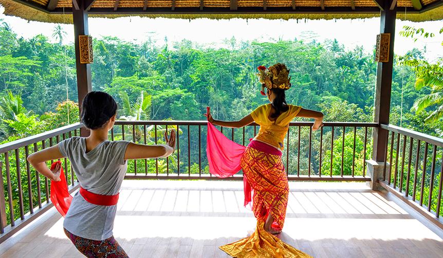 HOSHINOYA Bali 星のやバリでウェルネスプログラム「バリ舞踊美人滞在」開催