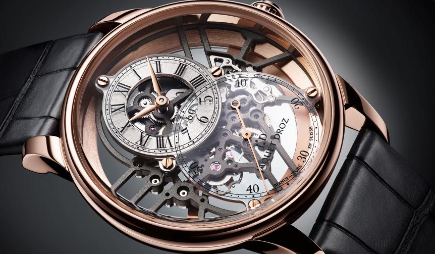 JAQUET DROZ|時計の奥深くまで光を取り込む「グラン・セコンド スケルトン」