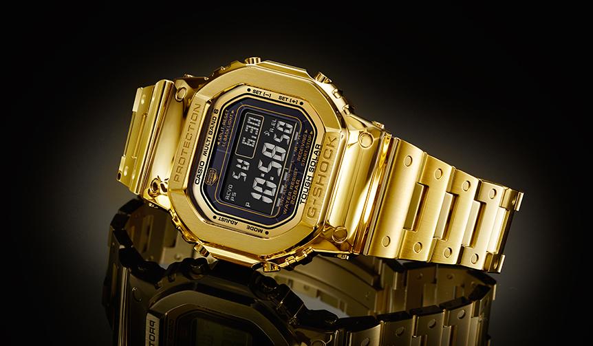 CASIO|ラスボスがついに! 金無垢G-SHOCKが世界限定数35本・完全受注生産