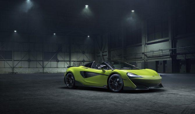 マクラーレンの最新オープン「600LTスパイダー」がデビュー|McLaren