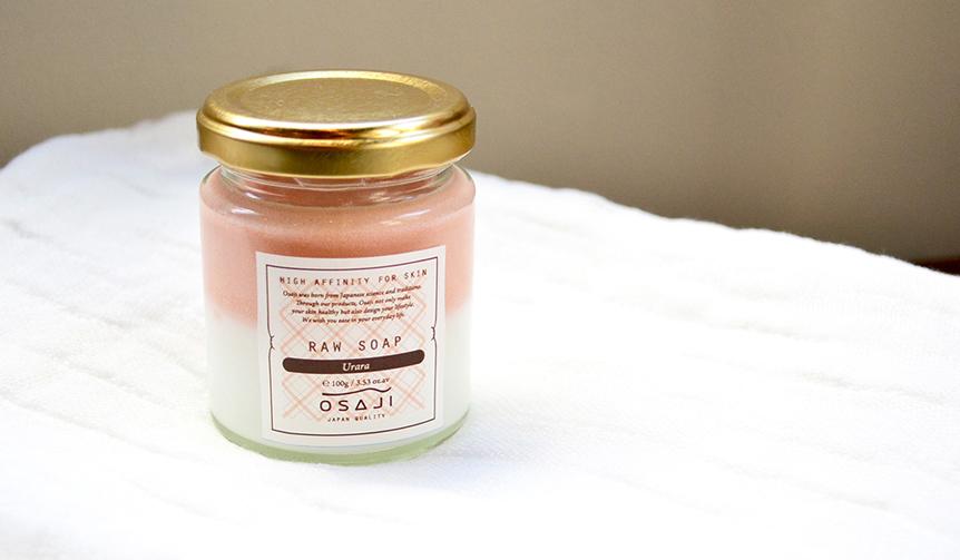 OSAJI|【2/9発売】春をイメージしたピンクのローソープ「Urara(ウララ)」登場