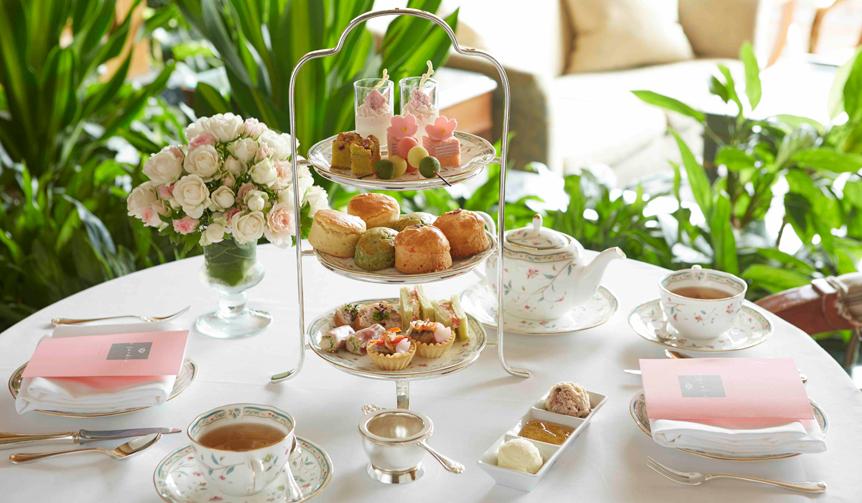LOUNGE|春を満喫できる「桜アフタヌーンティー」がホテル椿山荘東京でスタート