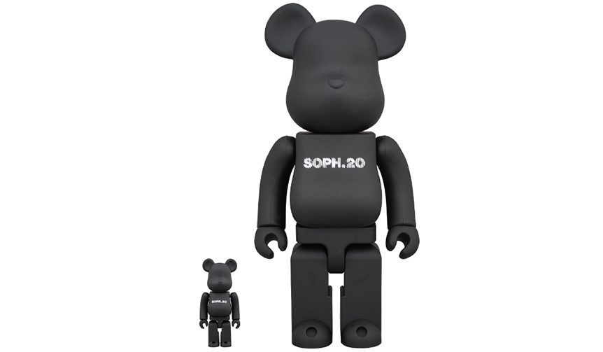 MEDICOM TOY|BE@RBRICK SOPH. 20th ANNIV. 100% & 400%
