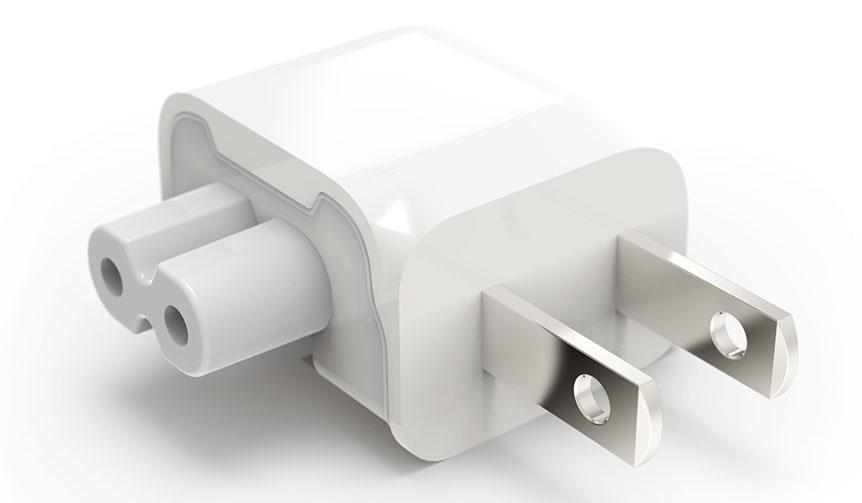 Ten One Design|狭いスペースでもApple社の純正電源アダプタが使用可能に