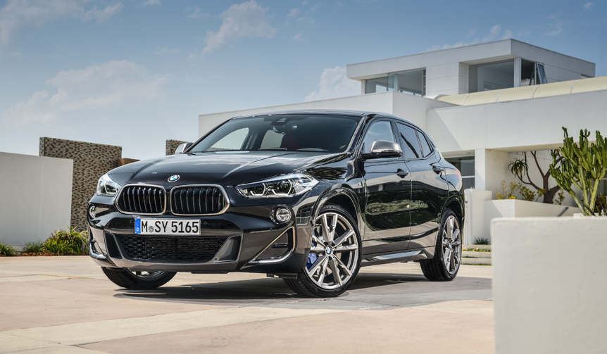 BMWコンパクトSUV「X2」にM35iと18dを追加 BMW