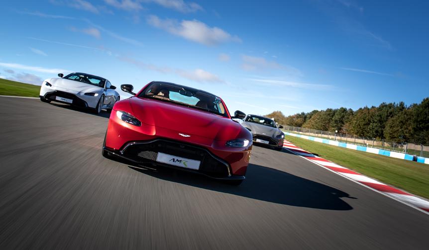 アストン、有名サーキットでの体験プログラムをスタート|Aston Martin