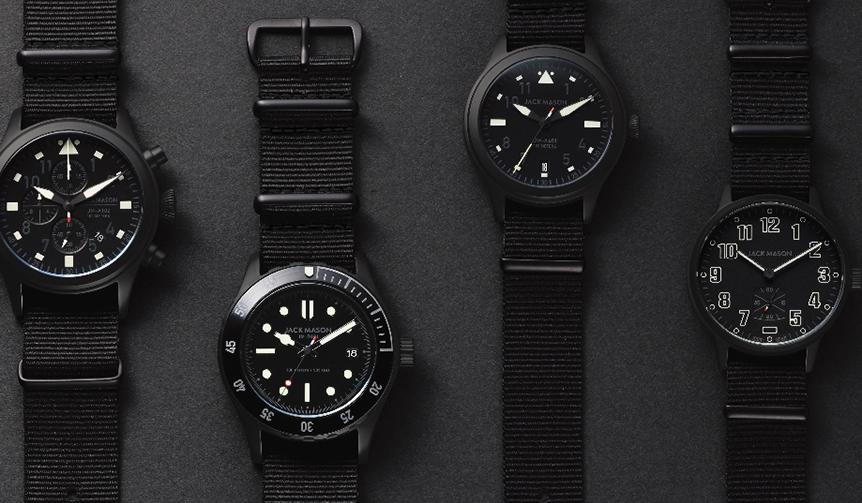 JACK MASON|テキサス発の時計ブランドが日本限定の6モデルを発売