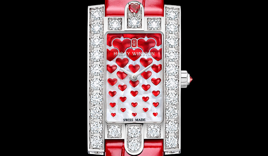 HARRY WINSTON|バレンタインに向けたロマンティックな限定モデル