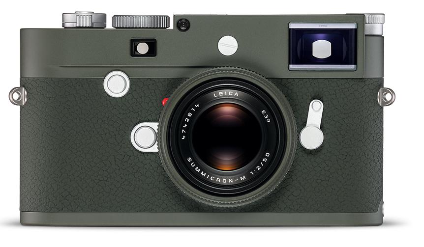 Leica| オリーブグリーンを纏ったライカの特別限定モデル