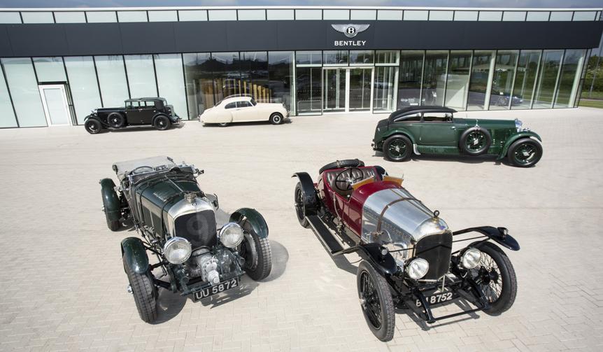 ベントレー創業100周年を記念して歴史的な記念モデルを展示|Bentley