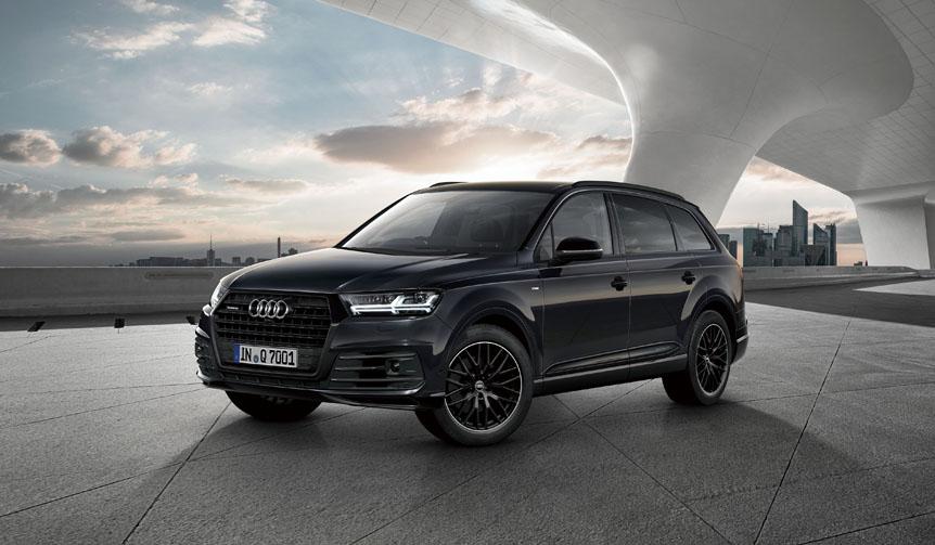 アウディQ7とQ2に、ブラックスタイリング限定モデル Audi