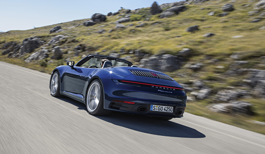 新型911カブリオレの価格が明らかに Porsche