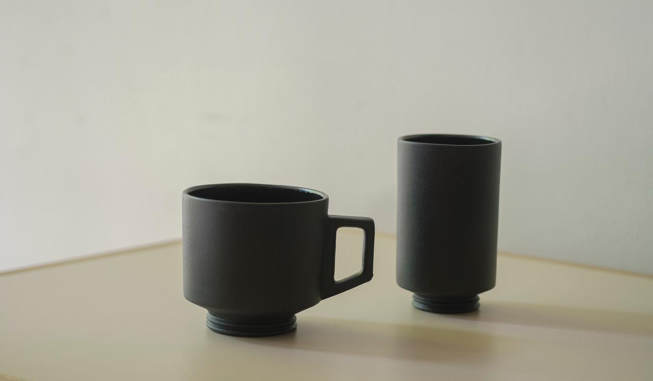 Playmountain|ミシガン州在住の陶芸作家に制作を依頼。マグカップとタンブラーが完成