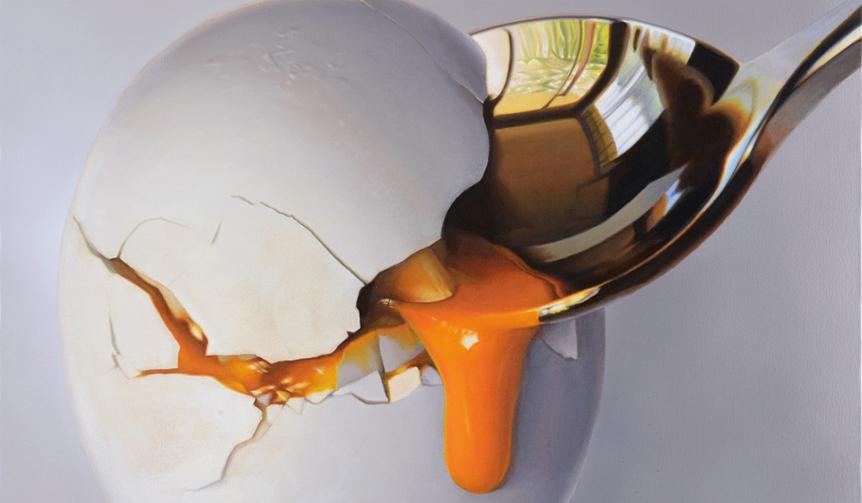 ART|人間が到達できる描写力の限界地点へ。スーパーリアリズムの画家・上田薫の個展開催