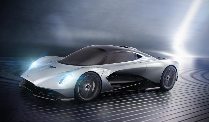 アストン、第三のミッドエンジンモデルを公開|Aston Martin