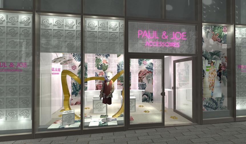 PAUL & JOE ACCESSOIRES|ポール & ジョー アクセソワのポップアップストアが展開中