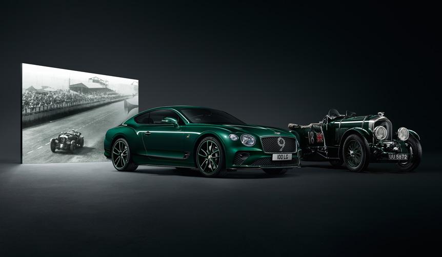 ベントレー100周年を記念した100台限定のコンチネンタルGT|Bentley