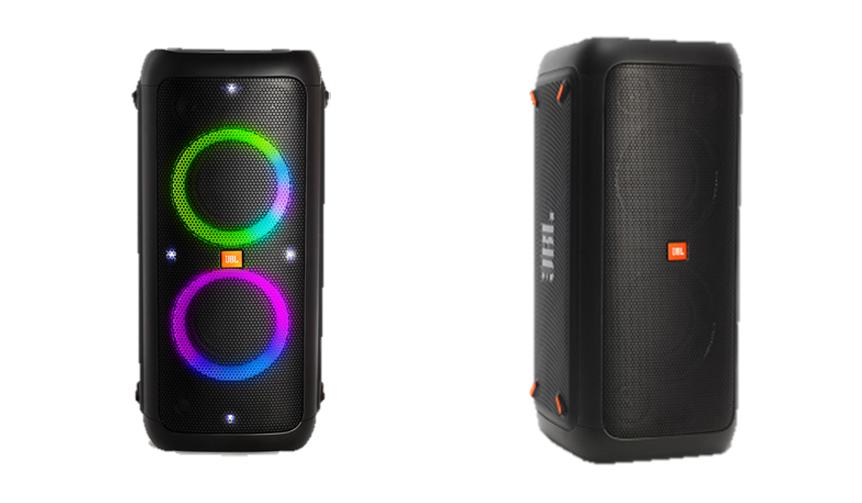 JBL|高音質と光の演出が愉しめるワイヤレススピーカー「JBL PARTYBOX 300」