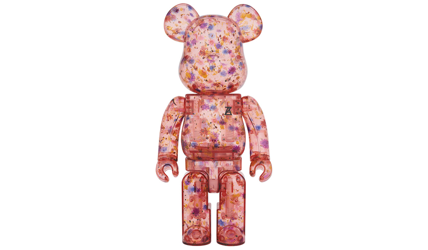 MEDICOM TOY|BE@RBRICK ANREALAGE (CLEAR RED Ver.) 100% & 400%