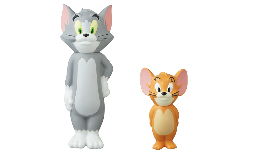 MEDICOM TOY|VCD TOM and JERRY BE@RBRICK TOM and JERRY 2PACK