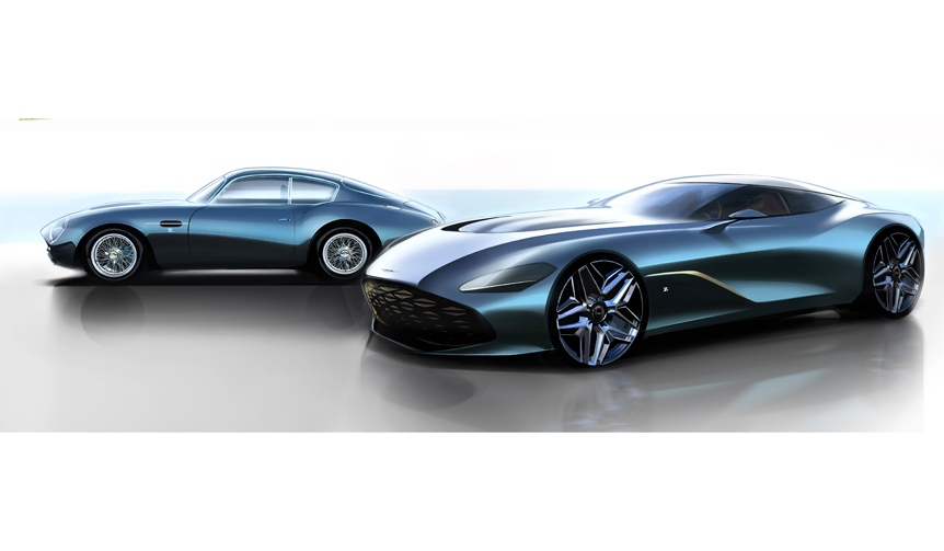 ザガート設立100周年を記念した19台限定モデルのレタリングを公開 Aston Martin