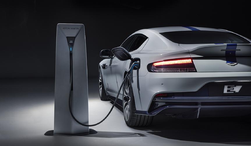アストンマーティン、生産バージョンのEV「ラピードE」を公開 Aston Martin
