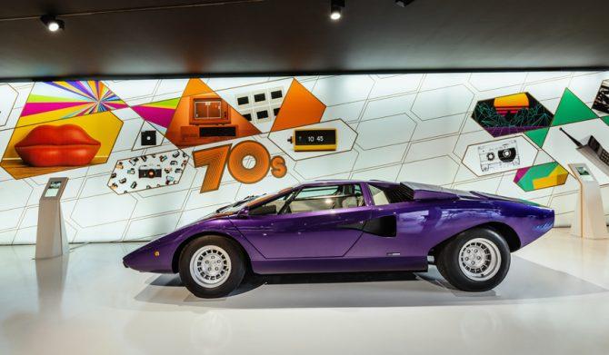 ランボルギーニ ミュージアムが装い新たに「テクノロジー博物館」としてオープン Lamborghini