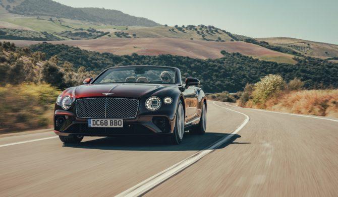 ベントレー コンチネンタルGTコンバーチブルに試乗|Bentley