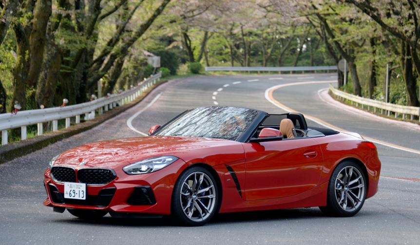 BMWの最新ロードスター Z4に試乗 BMW