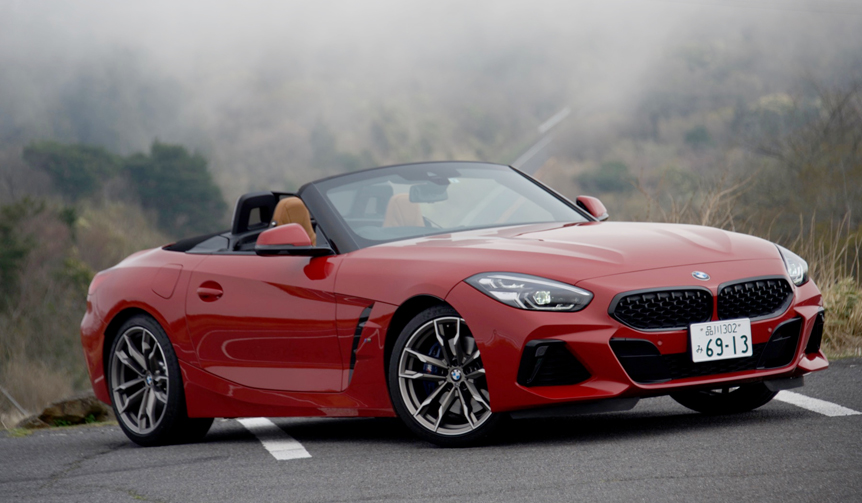 BMWの最新ロードスター Z4に試乗|BMW