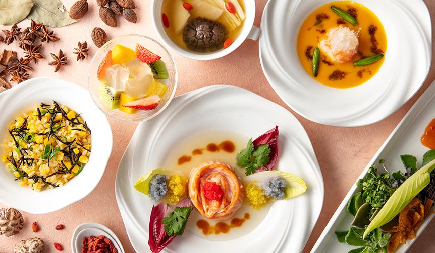 "EAT 中国古来の""食養生""というコンセプトを取り入れた「美膳チャイニーズ」"