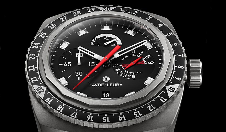FAVRE-LEUBA 「レイダー・ビバーク 9000」に初のブラックモデルが登場