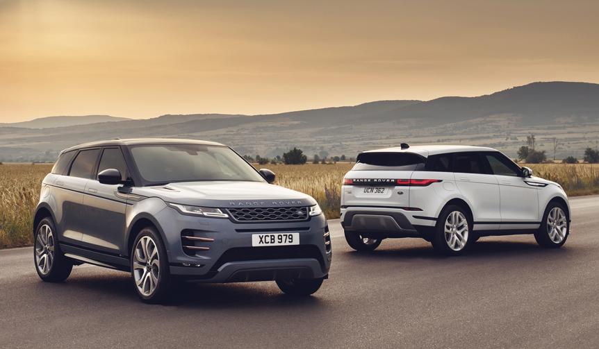 フルモデルチェンジしたイヴォークの受注開始|Land Rover