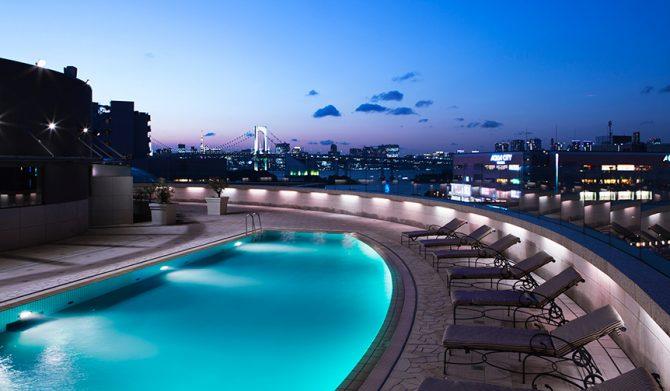 Grand Nikko Tokyo Daiba|東京の夜景 × ナイトプールという贅沢体験