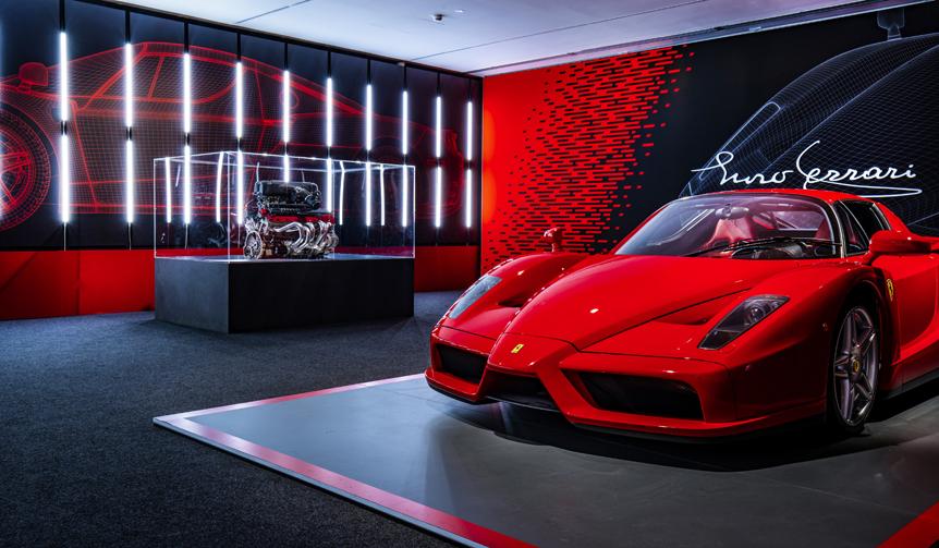 スクーデリア フェラーリ90周年を記念した特別展|Ferrari
