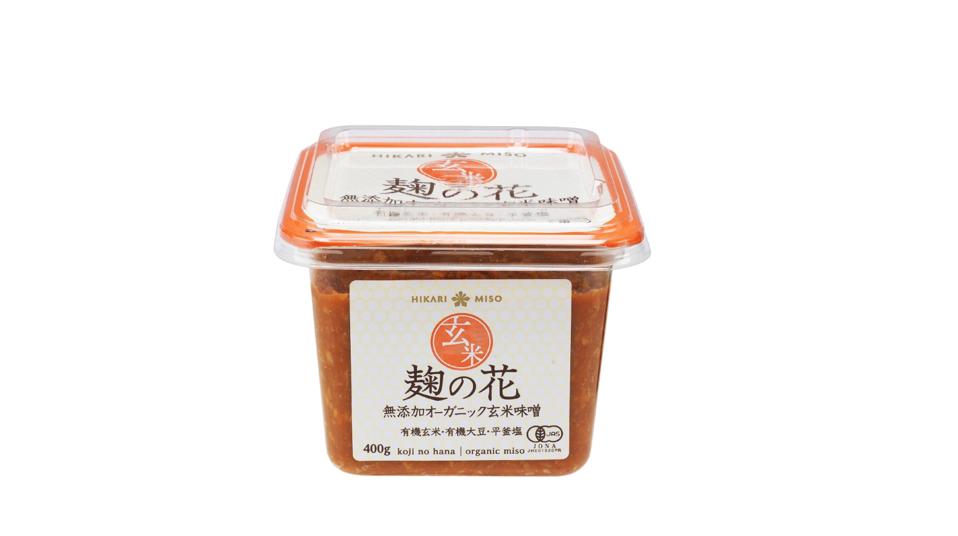 麹の花 無添加オーガニック玄米味噌