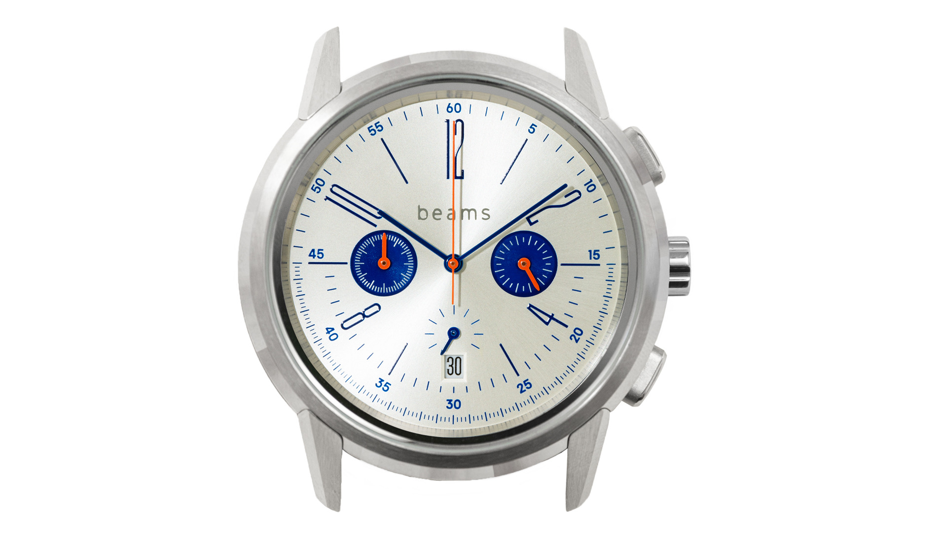 wena wrist Chronograph Classic Silver head beams edition (ウェナリスト クロノグラフ クラシック シルバー ヘッド ビームスエディション)