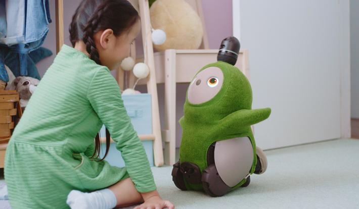 家族型ロボット『LOVOT(らぼっと)』